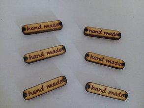 Komponenty - Hand made štítky - 9813191_