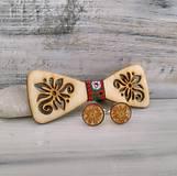 Doplnky - Drevený motýlik