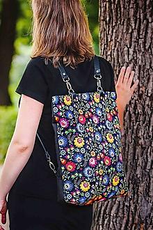 Batohy - Ava backpack n.4 kožené popruhy - 9814760_