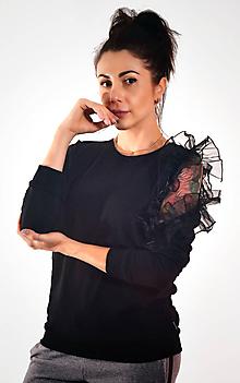 Mikiny - DÁMSKA MIKINA CEZ HLAVU BARRSA KENDY/BLACK - 9812132_