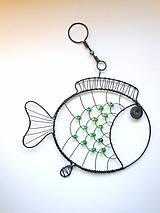 Dekorácie - Plave, plave rybička, veze kousek štěstíčka.... - 9812857_