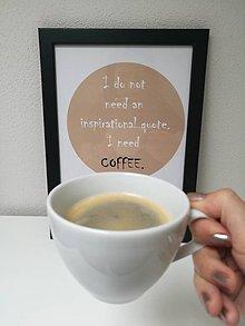 Obrazy - Obraz Coffee inspires - 9814130_