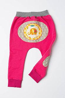 Detské oblečenie - Veselé tepláčiky - 9814832_