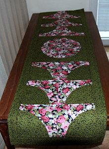 Úžitkový textil - Patchvorkový obrus antik I - 9814298_