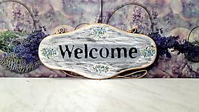 Tabuľka na dvere ,,Welcome