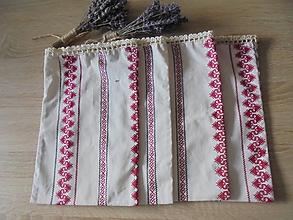 Úžitkový textil - Dekoračné vrecká na bylinky alebo oriešky - 9813279_