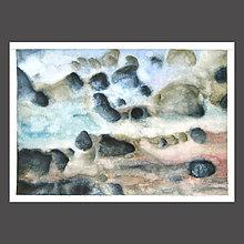 Obrazy - Voštiny - originál, velký akvarel - 9812574_
