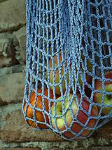 Nákupné tašky - Sieťovka - levanduľová - 9815174_