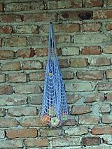 Nákupné tašky - Sieťovka - levanduľová - 9815175_
