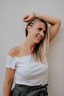 Náramky - Korkový náramok BE STRONG - 9816597_
