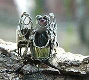 Prstene - Motýlí sen /vltavín/ - 9815972_