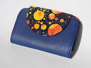 Peňaženky - Peňaženka Anita vesmírna - 9815342_