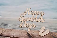 Papiernictvo - Dovolenkový fotoalbum - Happy summer days - 9816496_