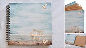 Papiernictvo - Dovolenkový fotoalbum - Happy summer days - 9816499_
