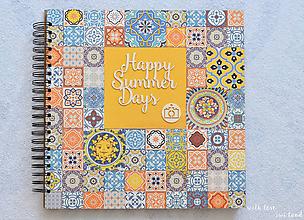Papiernictvo - Dovolenkový fotoalbum - Happy summer days - 9816646_