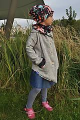 Detské oblečenie - Detský kardigan/kabátik dAdKa - koníky - 9815947_