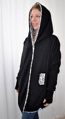 Kabáty - Kardigan/kabátik dAdKa - Mačky - 9815682_