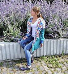 Kabáty - Kardigan/kabátik dAdKa - folk II. - 9815736_