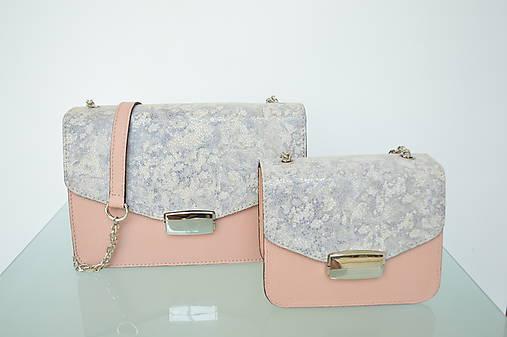 Kožená kabelka KATI mini ružová   Emmka-shop - SAShE.sk - Handmade ... 6ba2347f03e