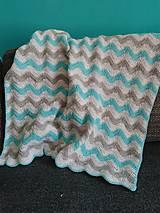 Textil - Háčkovaná deka - 9815886_