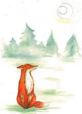 - Líška v lese - magnetka - 9817310_