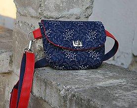 Iné tašky - ľadvinka Lujza červená 2 - 9817535_