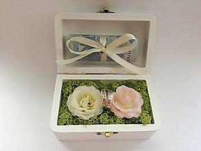 Nezaradené - Krabicka na prstene/darovacia krabicka - 9816750_