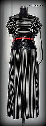 Opasky - Čierny korzetový opasok-zľava 20%!!! - 9817207_