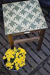 - Vidiecky zelený stolík - 9817829_