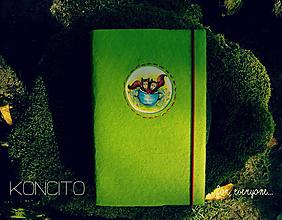 Papiernictvo - Kožuch/obal na knihu: l í š k y v š á l k e - 9818581_