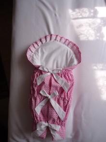 Textil - Zavinovačka predĺžená- ružovienka - 9819177_