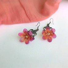 Náušnice - kvet oriental - 9819755_