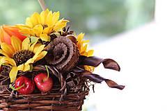 Dekorácie - Jesenný aranžmán - 9819276_