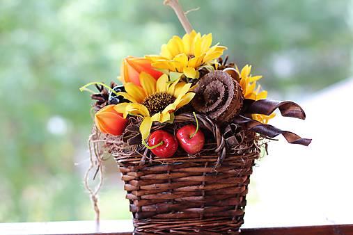 Jesenný aranžmán