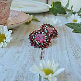 Náušnice - Melange earrings n.4 - vyšívané náušnice - 9818785_