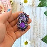 Náušnice - Melange earrings n.5 - vyšívané náušnice - 9818810_