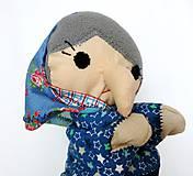 Hračky - Maňuška ježibaba (na objednávku) - 9818463_