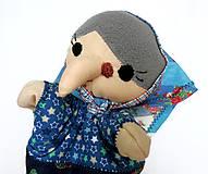 Hračky - Maňuška ježibaba (na objednávku) - 9818464_