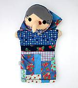 Hračky - Maňuška ježibaba (na objednávku) - 9818465_