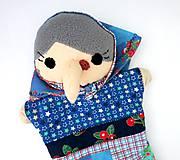 Hračky - Maňuška ježibaba (na objednávku) - 9818466_
