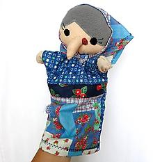 Hračky - Maňuška ježibaba - Ježibaba z Modrého domčeka - 9818461_