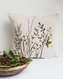 Úžitkový textil - Jesenný vankúš - 9819147_