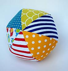 Hračky - Farebná loptička - 9820215_