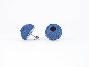 Náušnice - Náušnice ježovka green blue - 9818510_