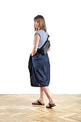 Kabelky - Waist bag black - 9819084_