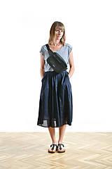 Kabelky - Waist bag black - 9819085_