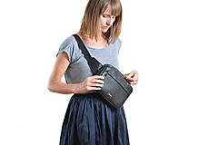 Kabelky - Waist bag black - 9819088_