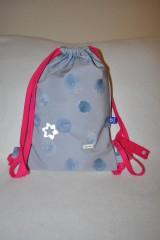 Detské tašky - Detský vak dAdKa - modrá/ružová - 9819543_