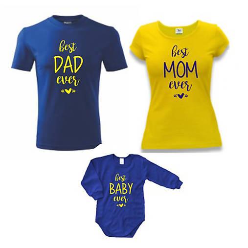 60e262c4028a Best rodinka - rodinný set tričiek   ele-ele - SAShE.sk - Handmade ...