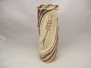 Dekorácie - Váza veľká B (Vaza okruhla vzor 5) - 9820532_